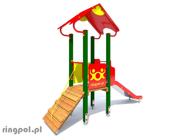 Plac zabaw dla dzieci - Borówka