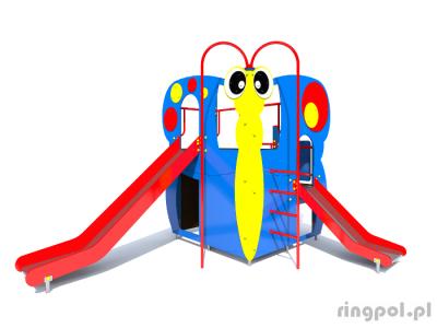 Plac zabaw Motyl o02 - seria owady