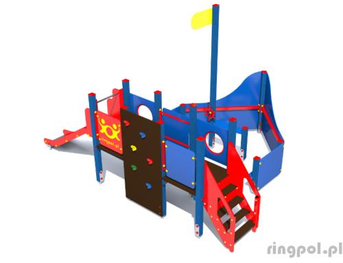 Plac zabaw Statek mały