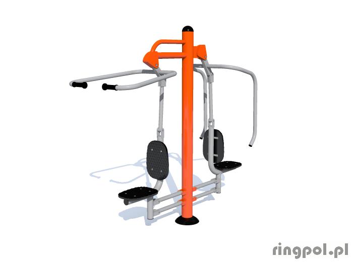 Siłownia zewnętrzna fitpark - Krzesełka do ściągania i wyciskania