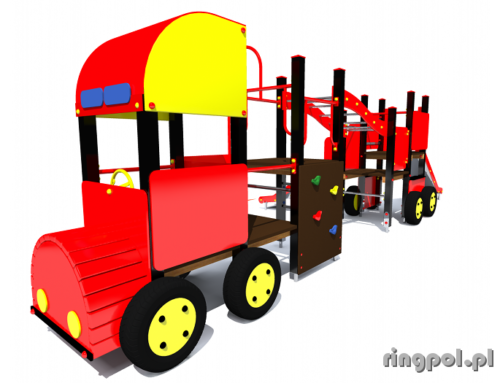 Plac zabaw Wóz strażacki długi