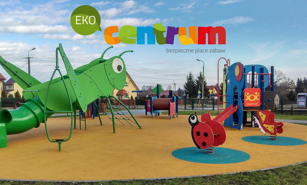 Plac zabaw Różan Eko-Centrum Sylwia Cichacka